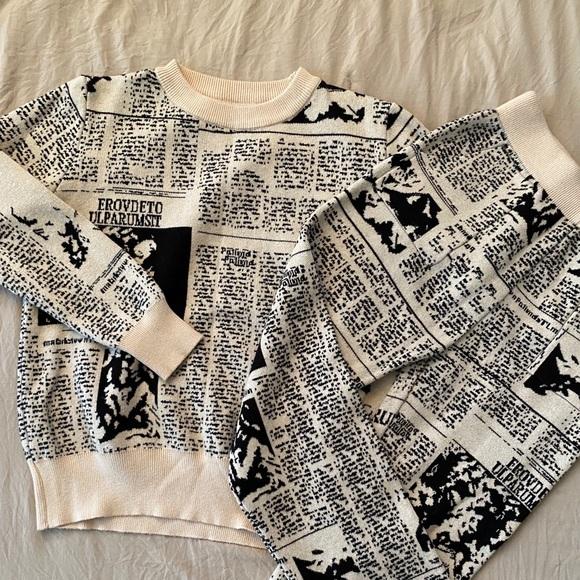 Top and Pants Set